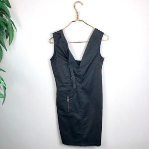 Diesel • Cargo Army Style Sleeveless Dress.